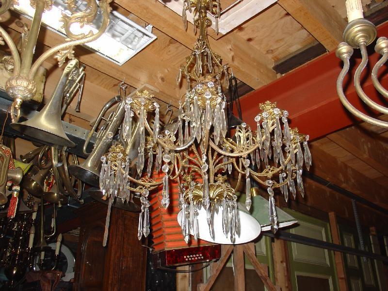 Kroonluchter (kristal) - Kroonluchters - Hanglampen - Verlichting ...