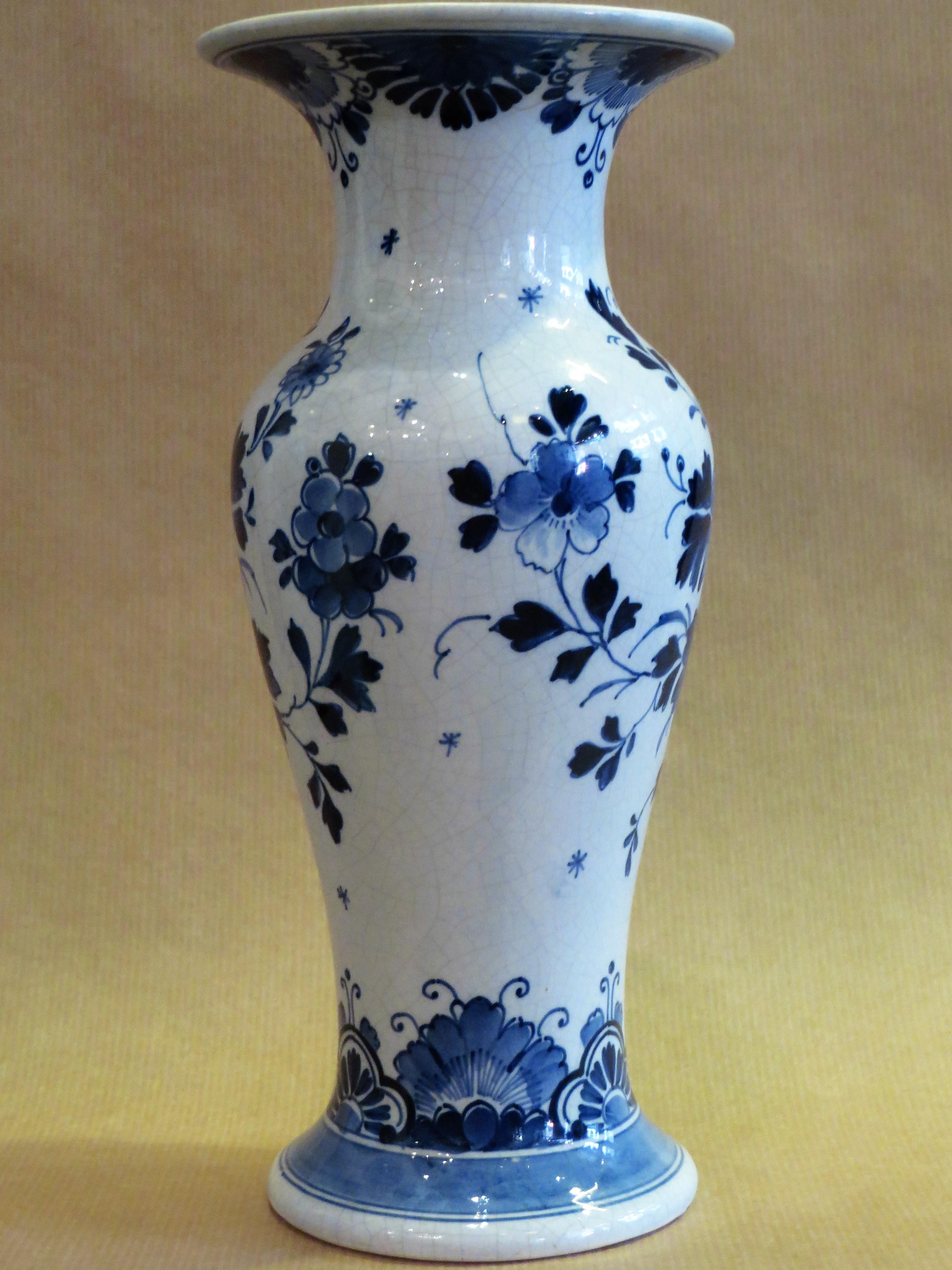 Vaas - Vazen - Oud Delfts Blauw - Collectie