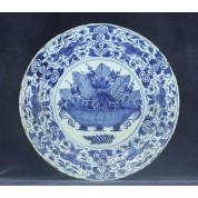 Antiek Delfts bord