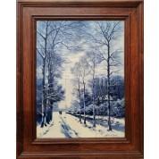 Winters landschap, De Porceleyne Fles-20