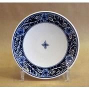 Bord Tellus blauwe bloem 15 cm-20