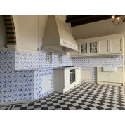 Keuken en eetkamer betegeling/ Kitchen and dining room tiling-20