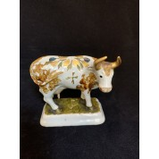 The polychrome figure of a standing cow-20