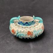 Nieuw Delft flat decorative vase-20