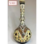 Antique vase, richly decorated, Rozenburg. Antieke vaas, rijkelijk versierd, Rozenburg.-20
