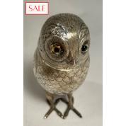 Antique silver owl caster. Antieke zilveren uil strooier.-20