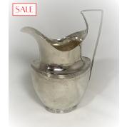 Antique silver Empire jug. Antieke zilveren Empire kan.-20