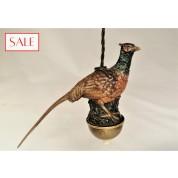 Antique Vienna bronze servant's bell, pheasant. Antieke Weens bronzen dienstbode bel, fazant.-20