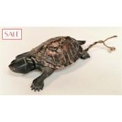 Antique Vienna bronze servant's bell, turtle. Antieke Weens bronzen dienstbode bel, schildpad.-20