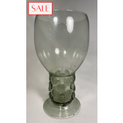 XL Roemer glass, antique style. XL Roemer glas, antieke stijl.-20
